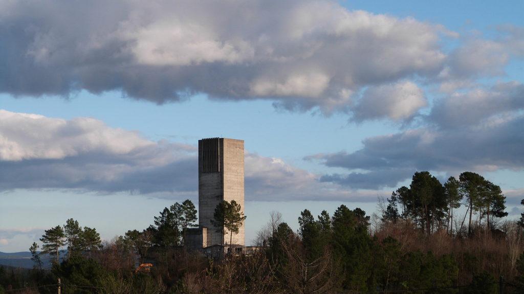 Tour de la mine de largentière 2020
